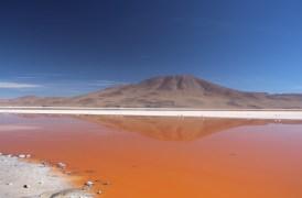 Dramatic Bolivian landscape