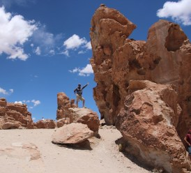 Remote rock formations