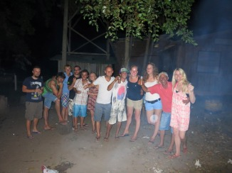 Bonfire night drinks