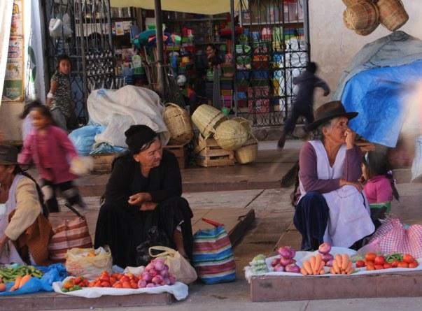Local markets in Sucre