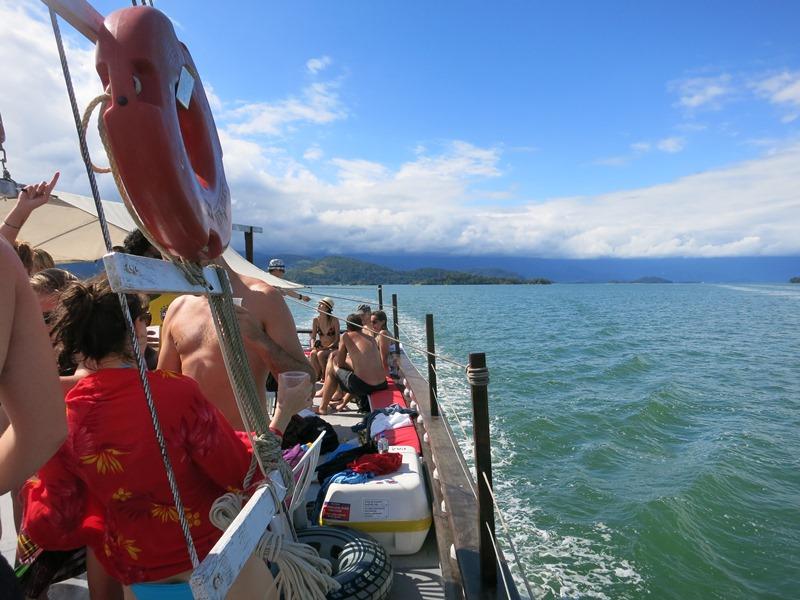 Paraty boat cruise