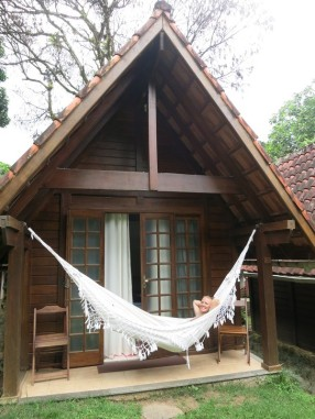 Our accommodation on Ilha Grande