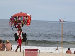 Beach vendor, Copacabana