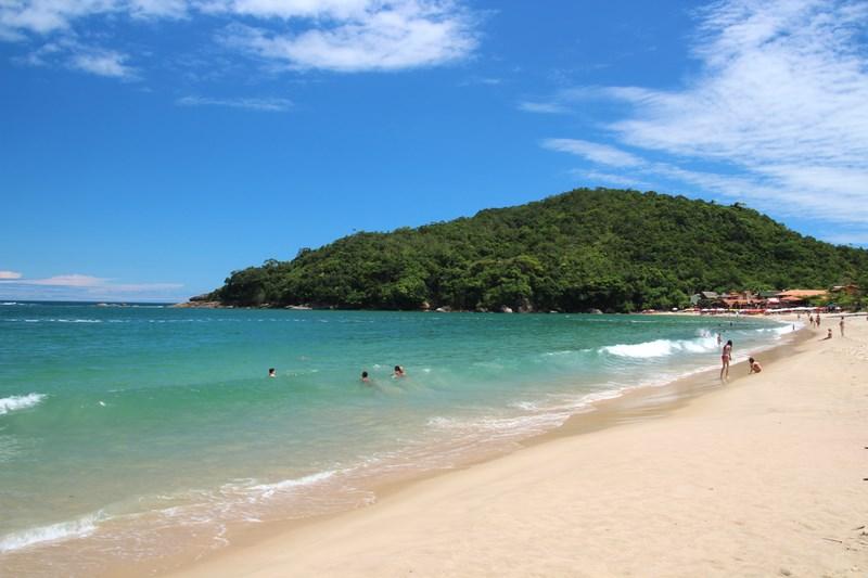 The beach and Trindade