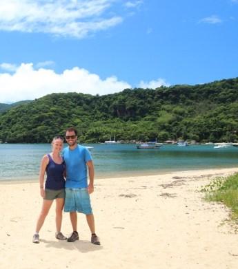 Treking to one of the beaches