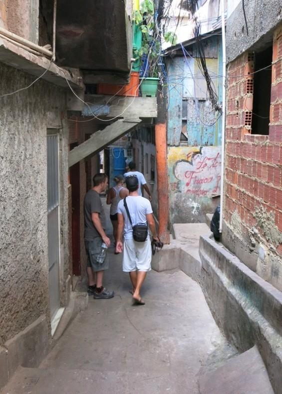 Favela walking tour