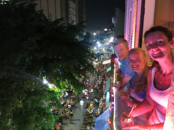 Night out in Lapa