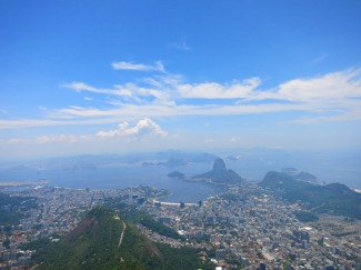 Amazing views from Christ the Redeemer